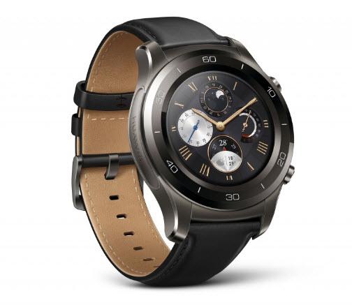 Представлены умные часы Huawei Watch 2, доступные в классическом и спортивном вариантах