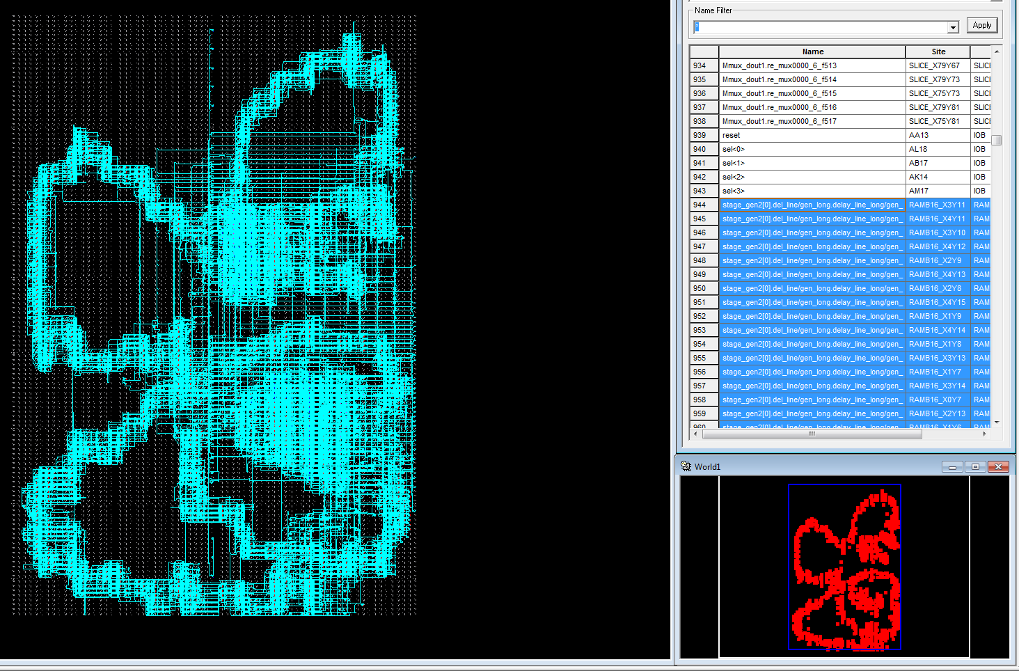 Реализация узла БПФ с плавающей точкой на ПЛИС - 16