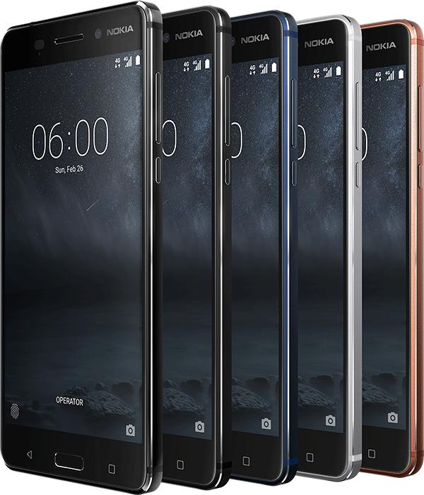 Смартфон Nokia 6 выйдет в Европе по цене €229 во втором квартале