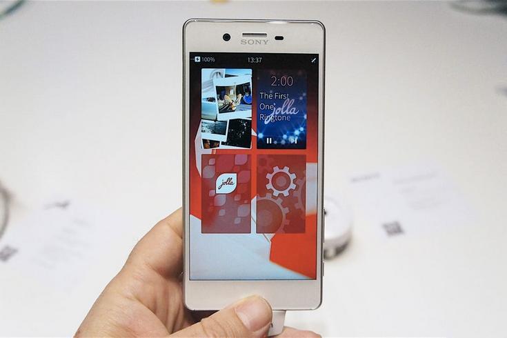 Sailfish OS станет доступна для смартфонов Sony
