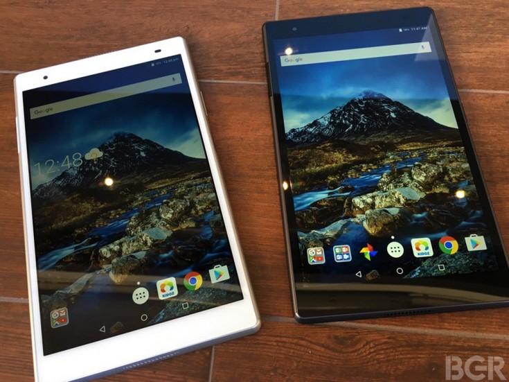 Планшеты Lenovo Tab 4 8, Tab 4 10, Tab 4 8 Plus и Tab 4 10 Plus основаны на SoC Qualcomm