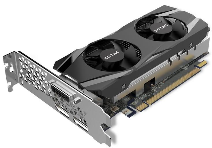 Zotac представила ускорители GeForce GTX 1050 Low Profile и GTX 1050 Ti Low Profile