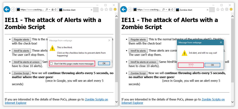 Дыра в IE11 позволяет выводить попапы даже после закрытия сайта - 4