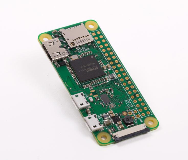 Пятилетие Raspberry Pi отмечено выпуском модели Raspberry Pi Zero W