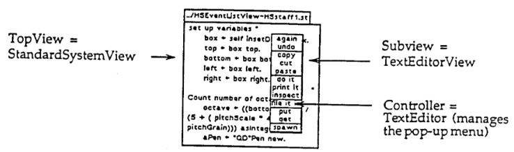 SmallTalk View Controller Separation