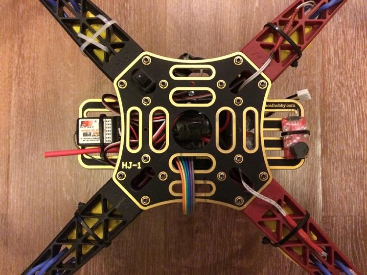 Квадрокоптер на MultiWii SE v2.5 — от задумки до первого полёта - 10