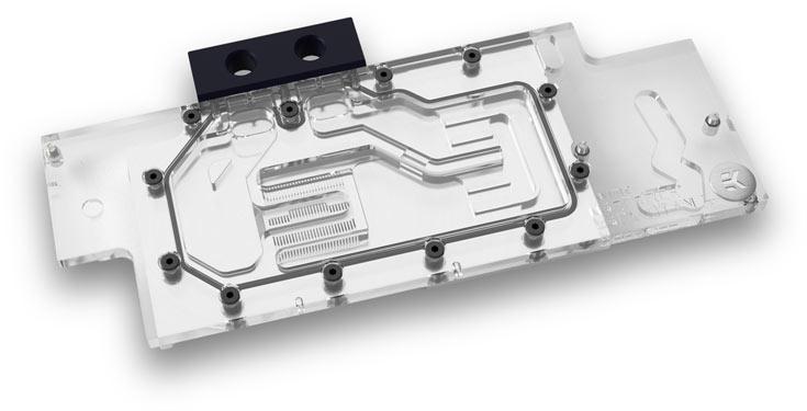 Водоблок EK Water Blocks EK-FC Titan X Pascal совместим с 3D-картой Nvidia GeForce GTX 1080 Ti