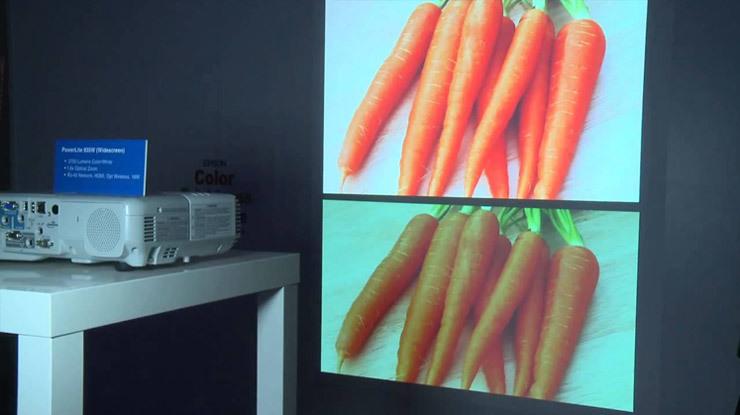 5 мифов о проекторах. Миф №2 – «Цветовая яркость» – выдуманная маркетологами характеристика проектора - 2