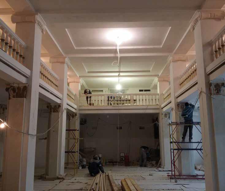 Как мы реконструировали здание суда в Смоленске: от лазерных сканов лепнины под плесенью до релиза - 21