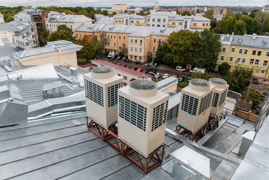 Как мы реконструировали здание суда в Смоленске: от лазерных сканов лепнины под плесенью до релиза - 37