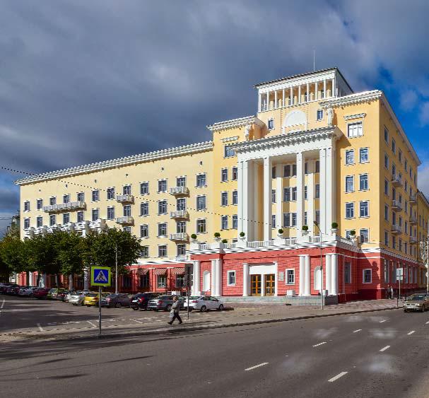 Как мы реконструировали здание суда в Смоленске: от лазерных сканов лепнины под плесенью до релиза - 48