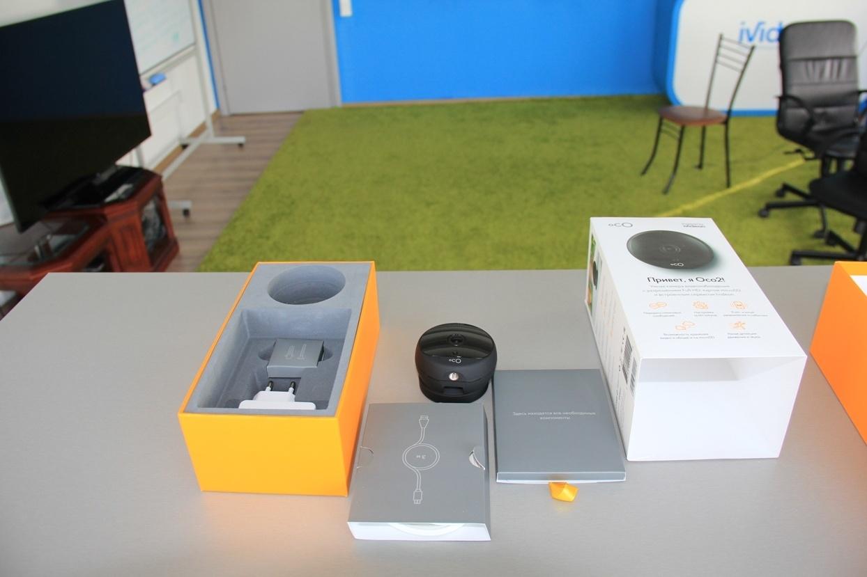 Обзор новой камеры видеонаблюдения Oco2 - 5