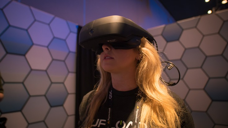 LG создаёт собственную гарнитуру VR на платформе Valve