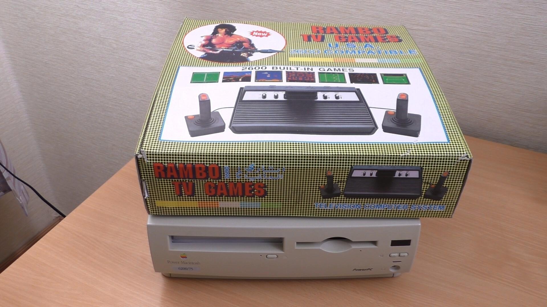 Rambo TV Games (Atari 2600) [статья с кучей фото и капелькой видео] - 2