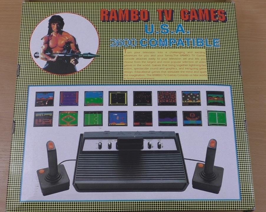 Rambo TV Games (Atari 2600) [статья с кучей фото и капелькой видео] - 1