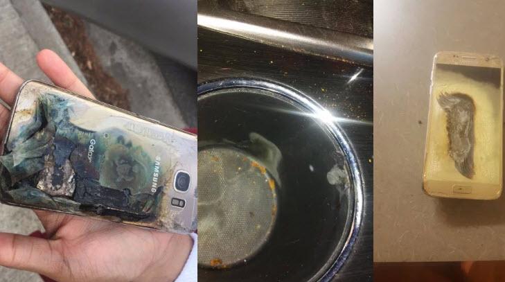 Смартфон Samsung Galaxy S7 загорелся при использовании в машине по каналу Bluetooth