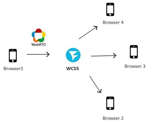 Развертывание многопользовательской WebRTC трансляции с web-камеры через сервер за 3 минуты - 2