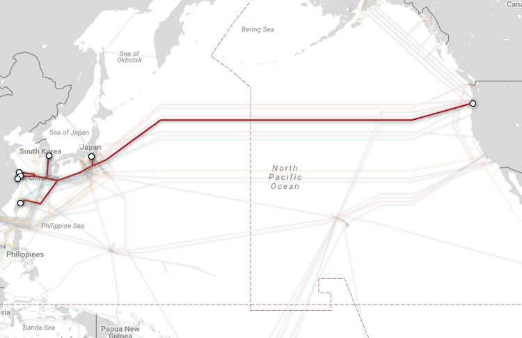 Магистральные проекты телекоммуникационных гигантов и карты подводных каналов связи - 10