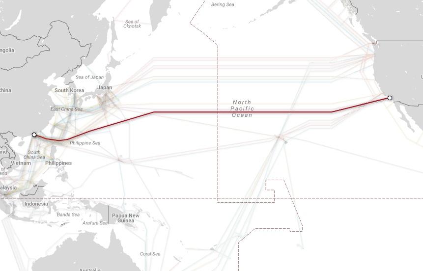 Магистральные проекты телекоммуникационных гигантов и карты подводных каналов связи - 12