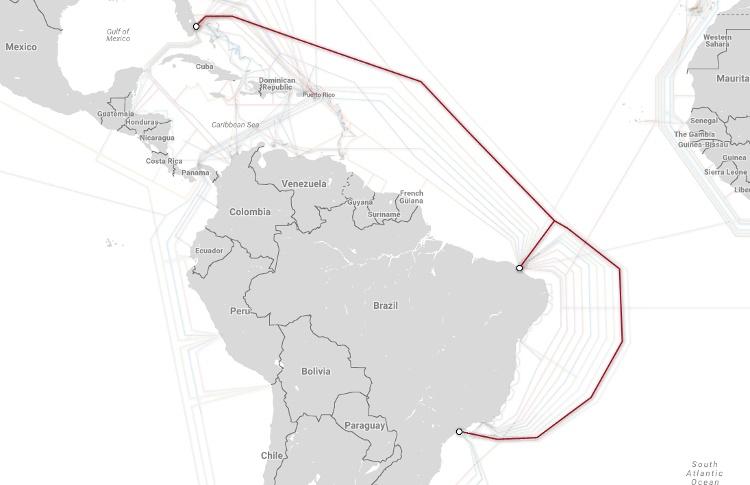 Магистральные проекты телекоммуникационных гигантов и карты подводных каналов связи - 5