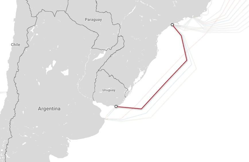 Магистральные проекты телекоммуникационных гигантов и карты подводных каналов связи - 6