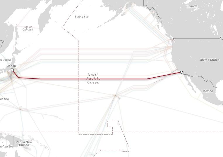 Магистральные проекты телекоммуникационных гигантов и карты подводных каналов связи - 8