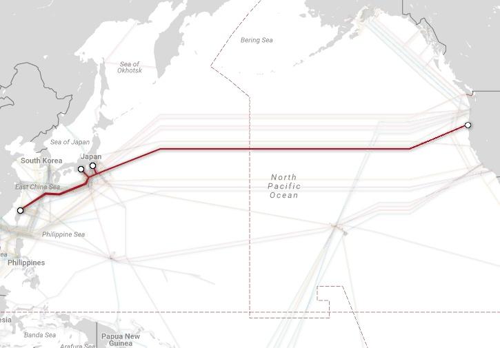 Магистральные проекты телекоммуникационных гигантов и карты подводных каналов связи - 9