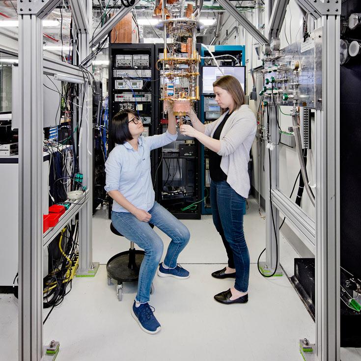 Для доступа к квантовому компьютеру предназначен специальный API