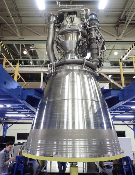 У Blue Origin готов первый двигатель BE-4