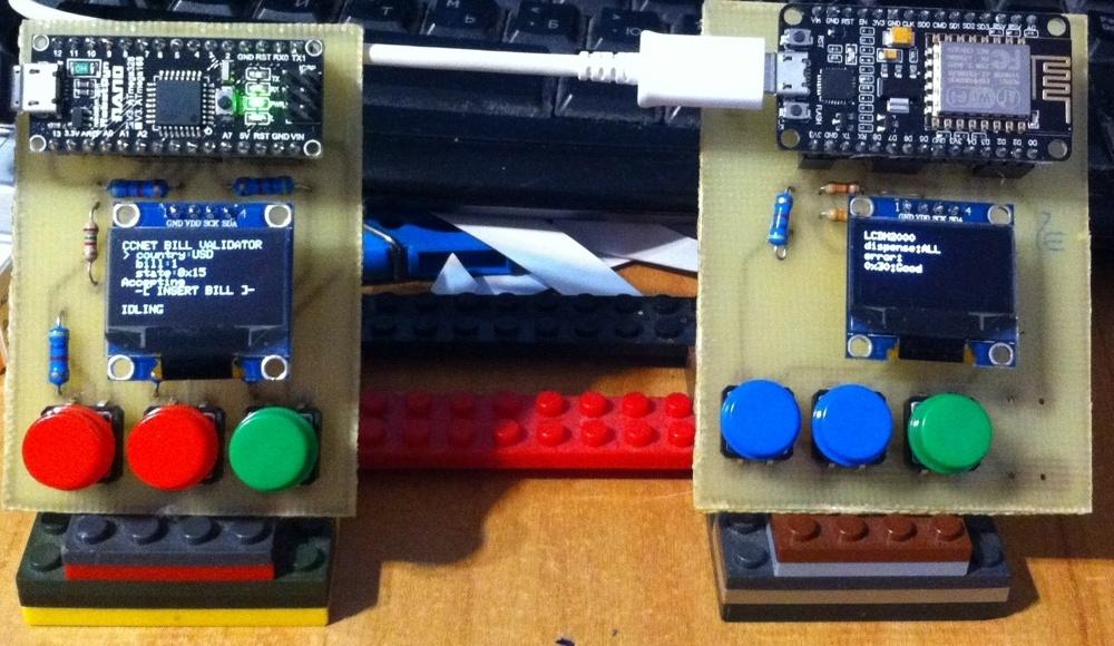 Эмулятор купюроприемников и диспенсеров на Arduino - 1