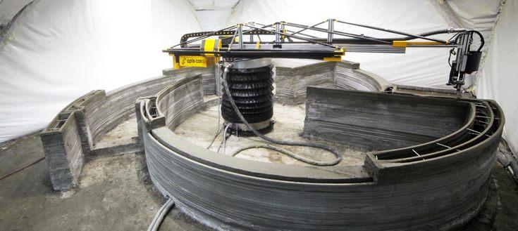 3D-принтер Apis Cor способен построить здание за сутки