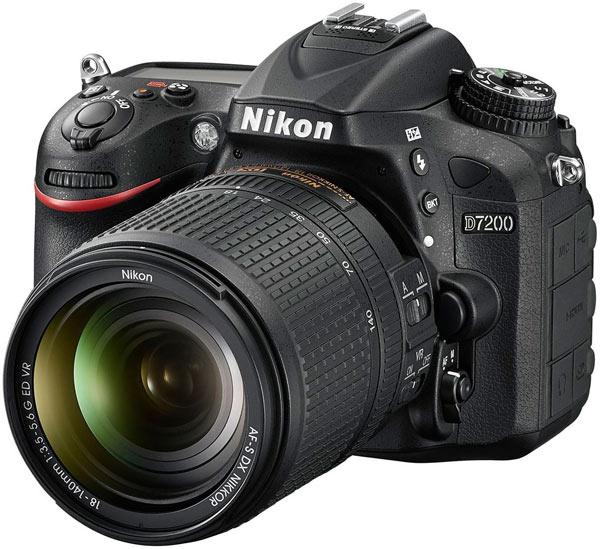 Камера Nikon D7200 формата APS-C