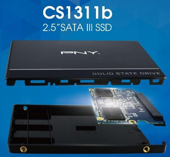 Накопители PNY CS1311b получили память 3D TLC NAND