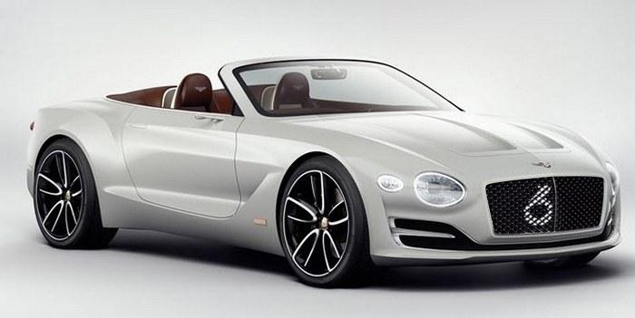 Bentley представила свой первый электромобиль