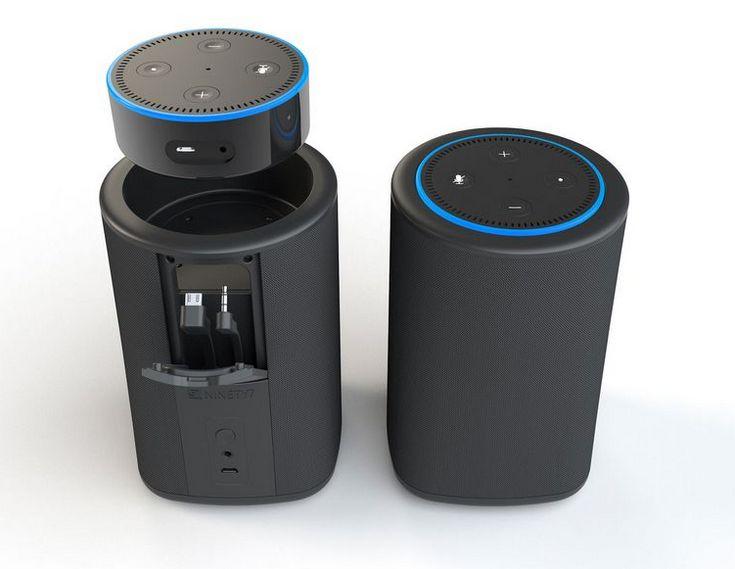 Док-станция Vaux для Amazon Echo Dot стоит 50 долларов