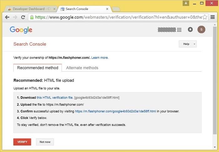 Cкринкастинг на сайте по WebRTC из браузера Chrome - 16