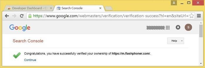 Cкринкастинг на сайте по WebRTC из браузера Chrome - 17