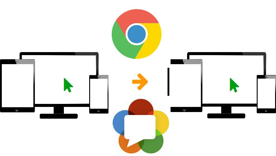 Cкринкастинг на сайте по WebRTC из браузера Chrome - 1