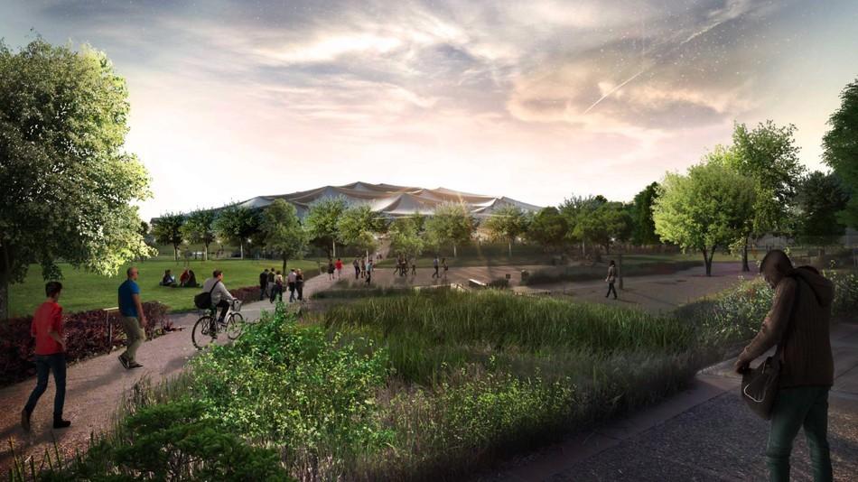 Google получила разрешение на строительство футуристичного здания новой штаб-квартиры - 1