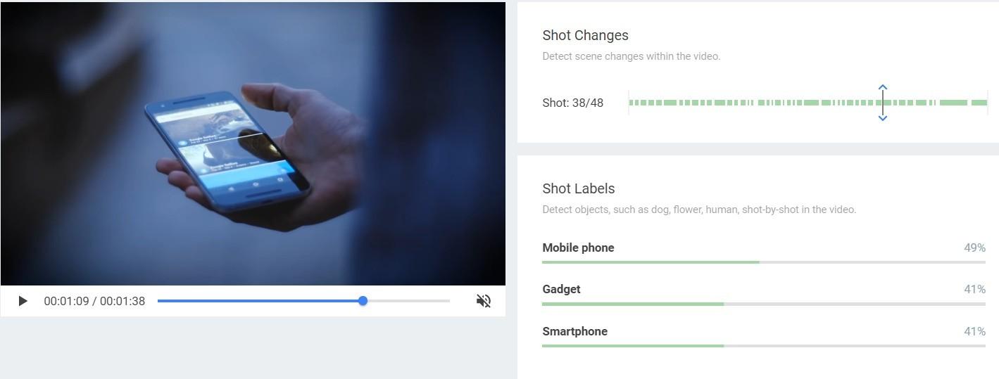 Google представила облачное API для распознавания объектов на видео - 2