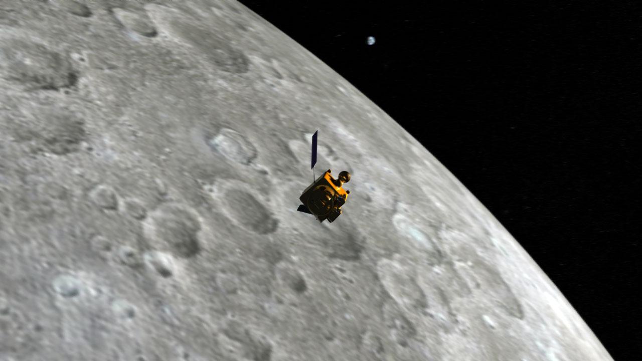 Как НАСА нашло потерянный 8 лет назад индийский спутник Луны - 1