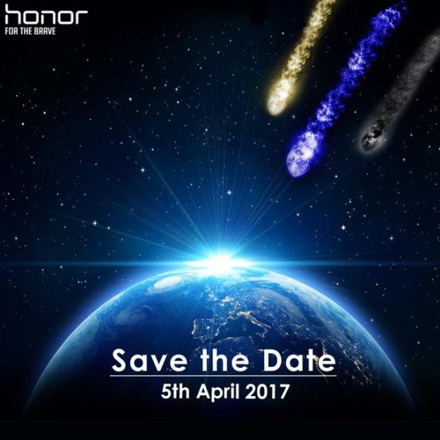 Honor 8 Pro представят в Европе 5 апреля в трех цветах