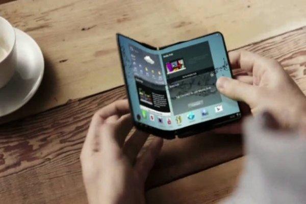 Samsung создаст прототип складного смартфона в третьем квартале