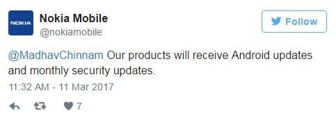 Nokia обещает ежемесячные обновления для своих смартфонов