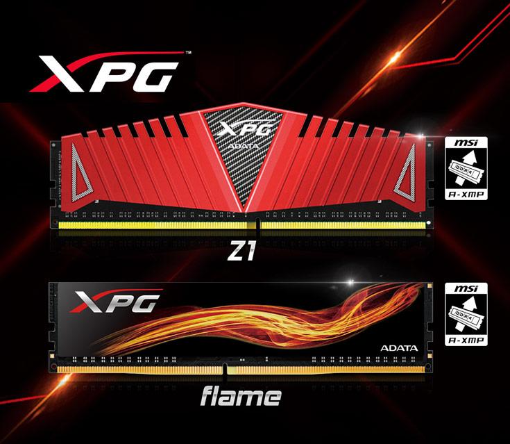 Модули XPG DDR4 добавлены в список сертифицированных изделий, что также означает поддержку профилей настроек A-XMP