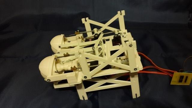 Робот промоутер — Oscar. Голова - 4