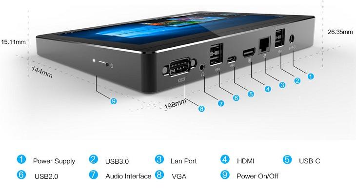 ПК Ecdream EC-V26 остнован на ЦП поколения Intel Apollo Lake