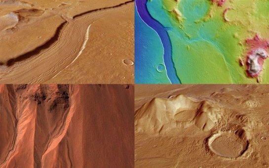 На Марсе есть реки с соленой водой