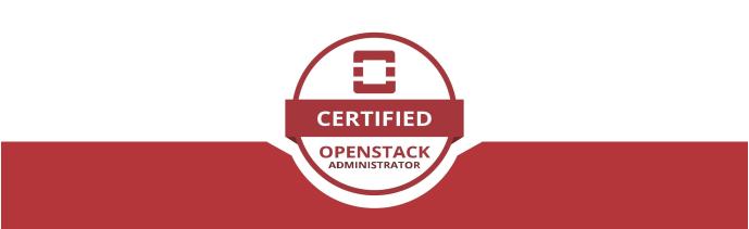 Опыт сдачи экзамена Certified Openstack Administrator (COA) - 1