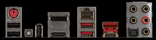 Также на плате MSI Z270 Mpower Gaming Titanium расположен слот U.2 для скоростных SSD